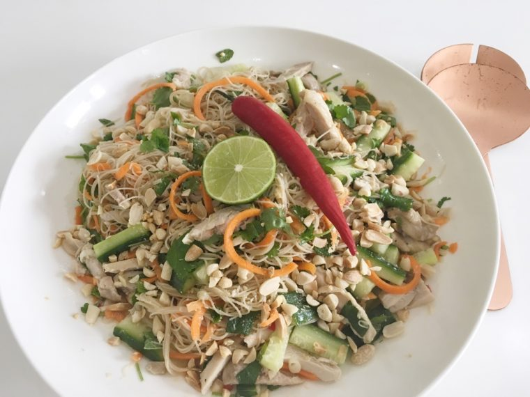 Vietnamese Chicken Salad serve 2