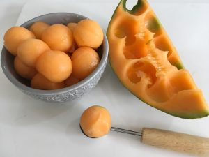 melon salad balls