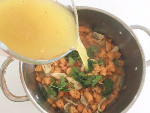 Butternut Squash Soup add stock