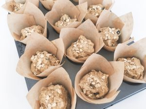 blueberry muffins uncooked