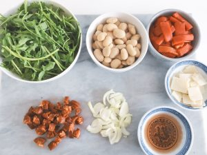 Butterbean Salad Ingredients