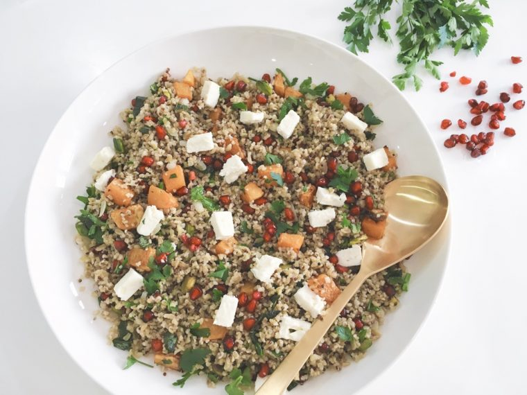Freekeh salad serve 1