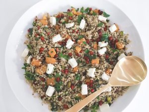 Freekeh salad serve 5