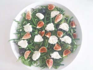 Fresh Figs Salad layer 3
