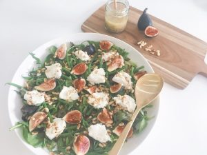 Fresh Figs Salad serve 5