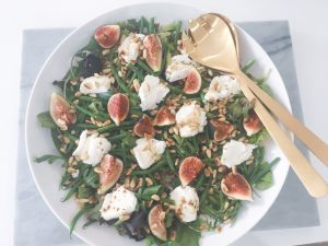 Fresh Figs Salad serve 6