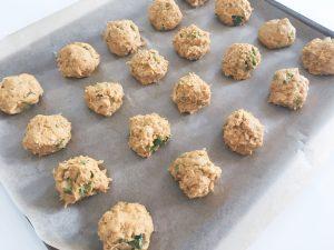 falafel before cooking