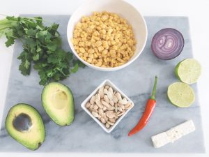 sweetcorn salsa ingredients