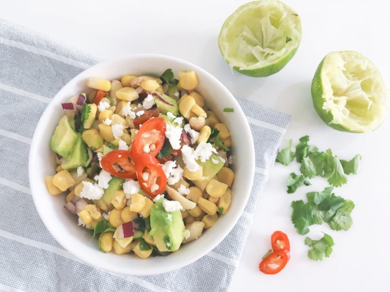 sweetcorn salsa serve 2