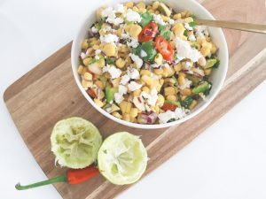 sweetcorn salsa serve 4