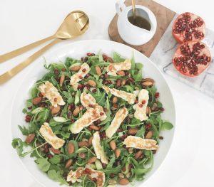 Halloumi salad serve 3
