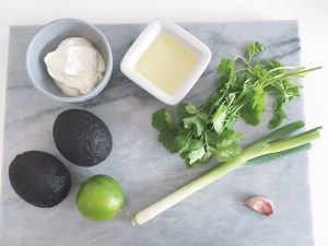 avocado dressing ingredients