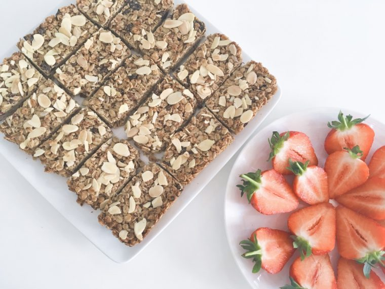 nut butter flapjack serve 5