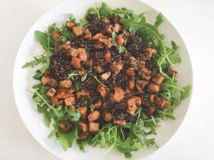 Lentils & Squash Salad add squash