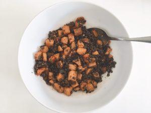 Lentils & Squash Salad mix
