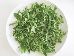 Lentils & Squash Salad rocket