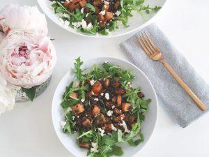 Lentils & Squash Salad serve 2