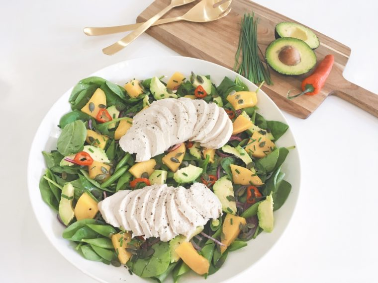 Mango Salad serve 3