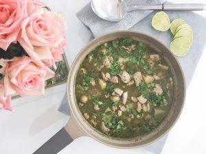 Thai Green Curry serve 1