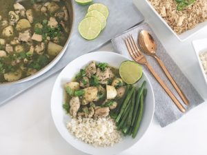 Thai Green Curry serve 2