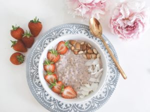 coconut overnight oats serve 1