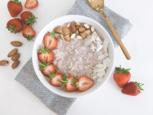 coconut overnight oats serve 3
