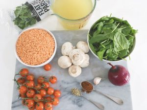 Red Lentils ingredients